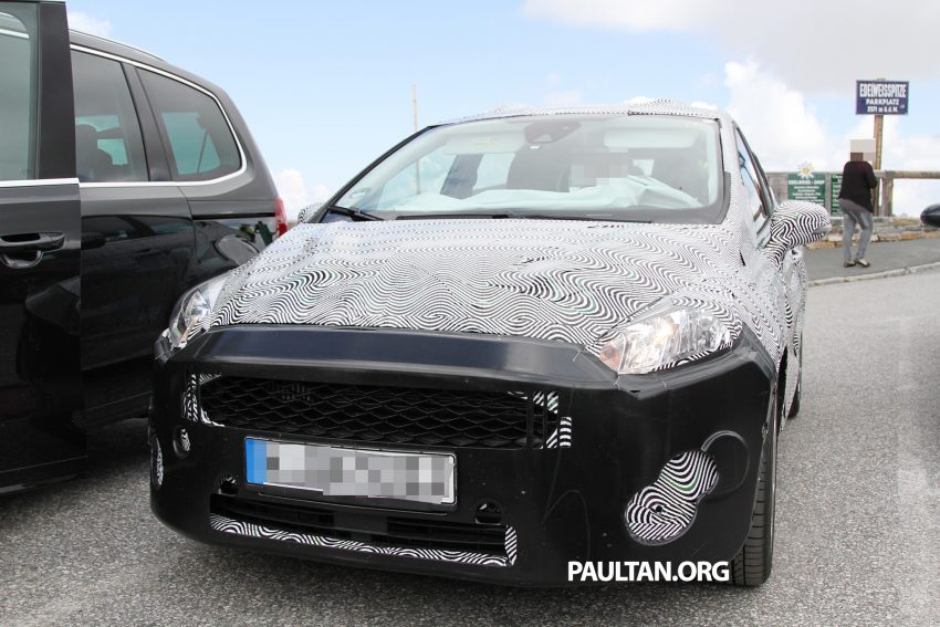 SPIED: 2017 Ford Fiesta caught in production body Image #505242