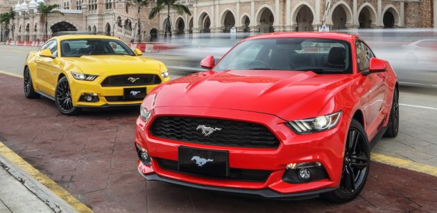 Ford Mustang Makes Its Official Debut In Malaysia  L Ecoboost Rmk And  L Gt V Rmk