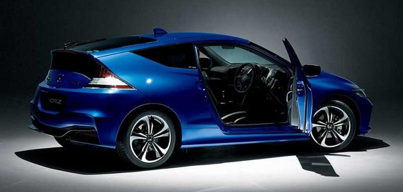 Honda Cr Z Alpha Final Label Sport Hybrid Bows Out Paul