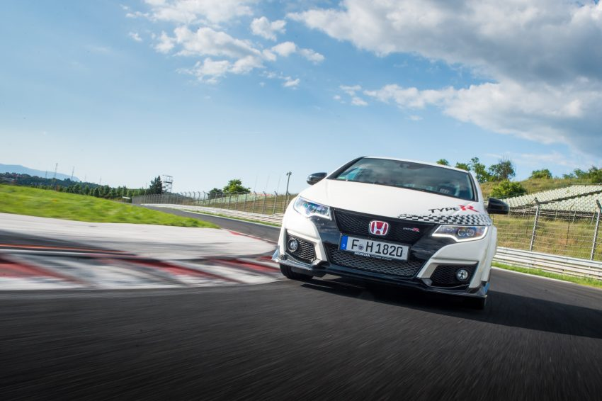 Honda Civic Type R sets five new FWD lap records in Europe – Silverstone, Spa, Monza, Estoril, Hungaroring Image #508551