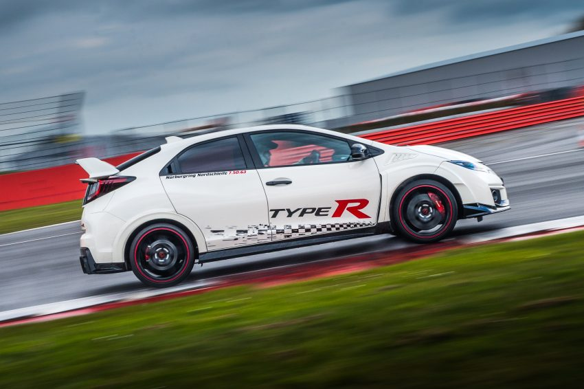 Honda Civic Type R sets five new FWD lap records in Europe – Silverstone, Spa, Monza, Estoril, Hungaroring Image #508561