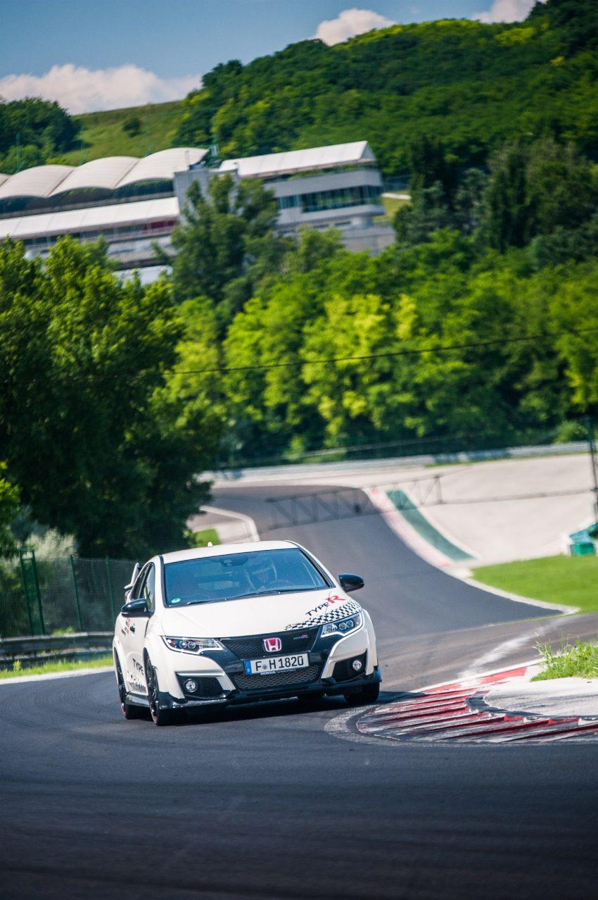 Honda Civic Type R sets five new FWD lap records in Europe – Silverstone, Spa, Monza, Estoril, Hungaroring Image #508564