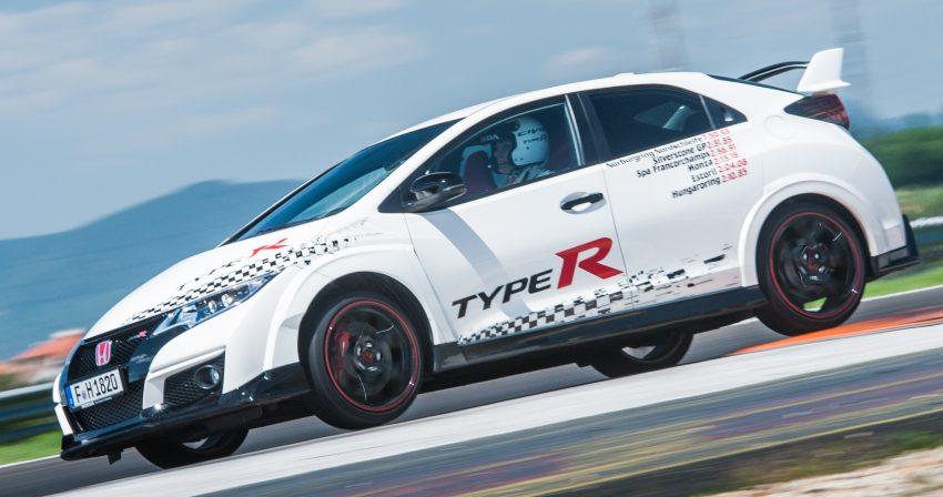 Honda Civic Type R sets five new FWD lap records in Europe – Silverstone, Spa, Monza, Estoril, Hungaroring Image #508565