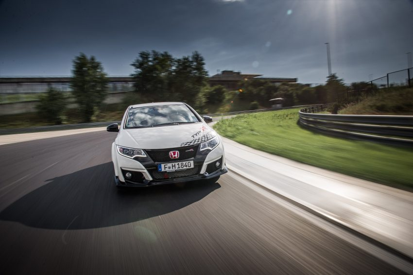 Honda Civic Type R sets five new FWD lap records in Europe – Silverstone, Spa, Monza, Estoril, Hungaroring Image #508566