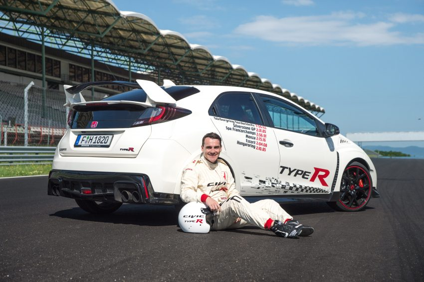 Honda Civic Type R sets five new FWD lap records in Europe – Silverstone, Spa, Monza, Estoril, Hungaroring Image #508567