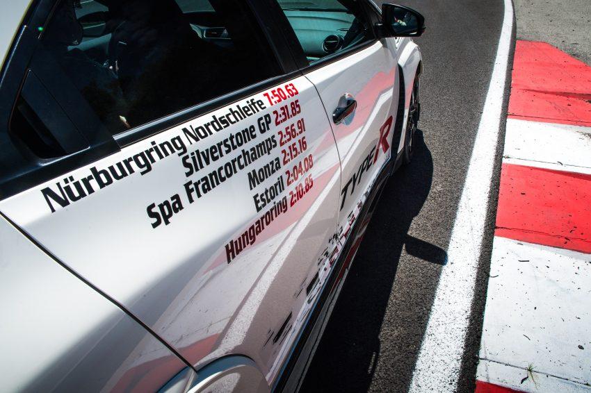 Honda Civic Type R sets five new FWD lap records in Europe – Silverstone, Spa, Monza, Estoril, Hungaroring Image #508552