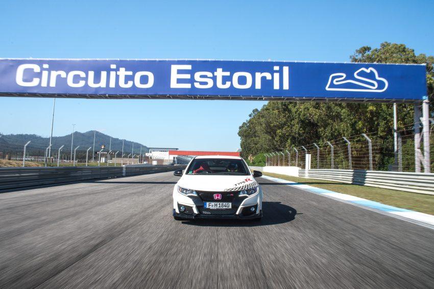 Honda Civic Type R sets five new FWD lap records in Europe – Silverstone, Spa, Monza, Estoril, Hungaroring Image #508573