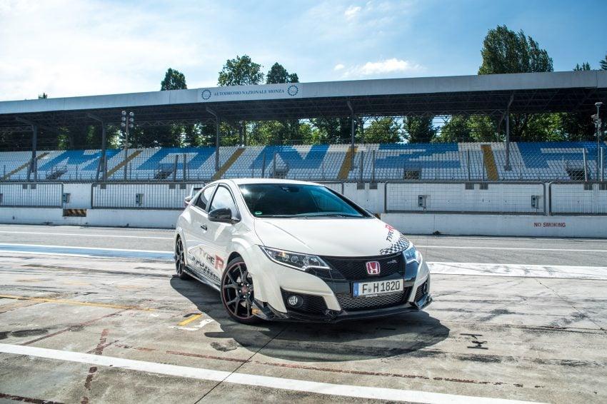 Honda Civic Type R sets five new FWD lap records in Europe – Silverstone, Spa, Monza, Estoril, Hungaroring Image #508553