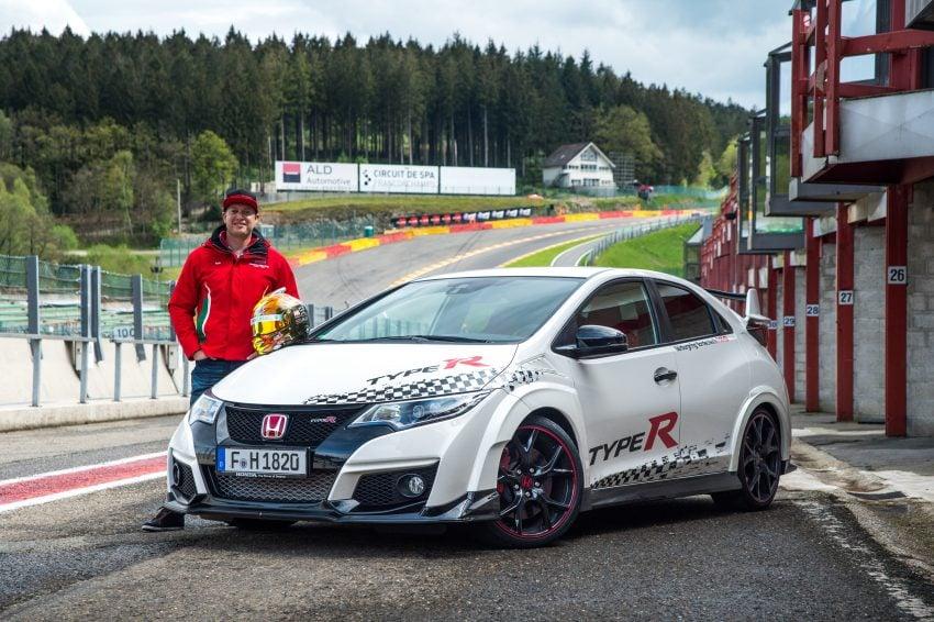 Honda Civic Type R sets five new FWD lap records in Europe – Silverstone, Spa, Monza, Estoril, Hungaroring Image #508555
