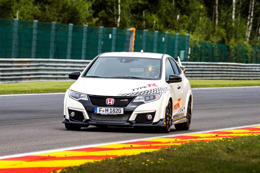 Honda Civic Type R sets five new FWD lap records in Europe – Silverstone, Spa, Monza, Estoril, Hungaroring Image #508556
