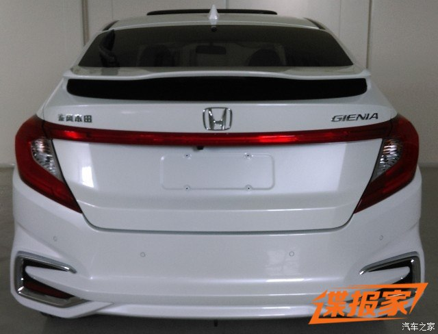 SPIED: Honda Gienia spotted – it's a City hatchback! Image #510641