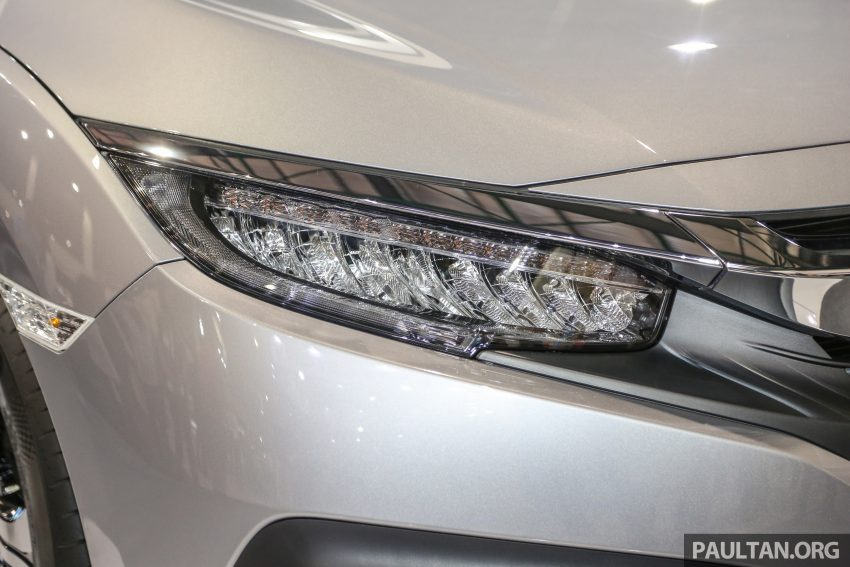 Honda Civic 2016 dilancarkan di M'sia – 1.8L dan 1.5L VTEC Turbo; tiga varian dan harga bermula RM111k Image #505713