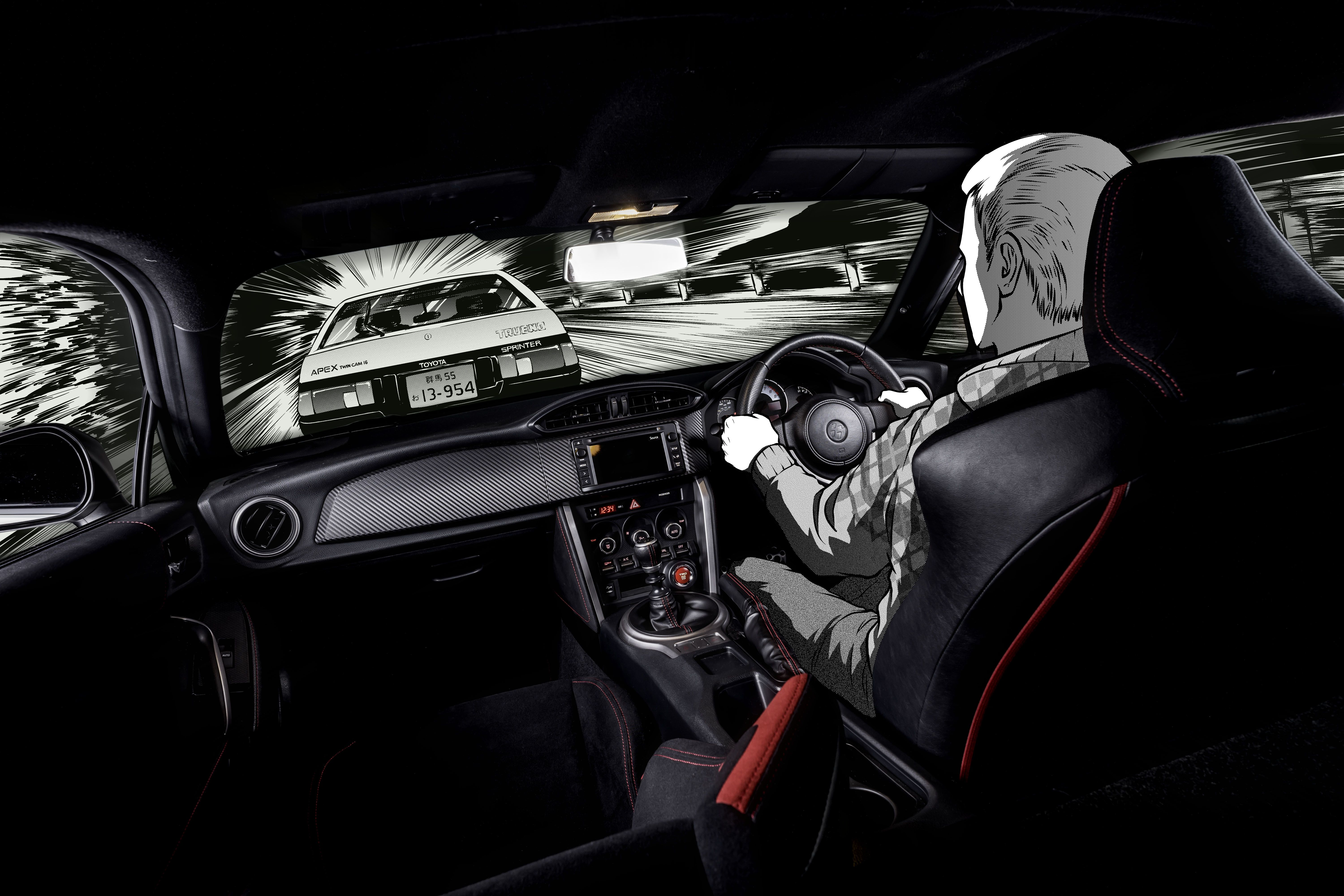 Toyota Gt86 Initial D Concept Modern Day Hachiroku Image