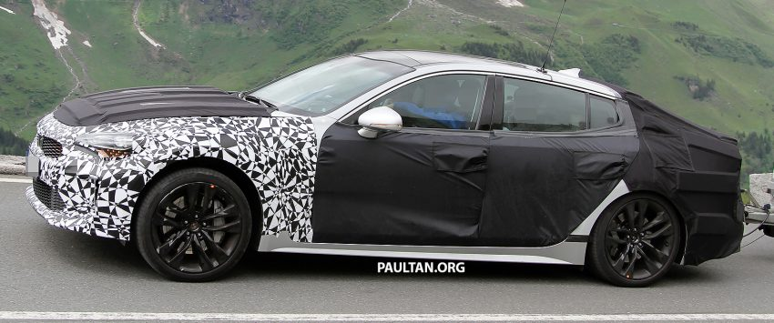 SPYSHOTS: Kia GT reveals some more of its curves Image #508781