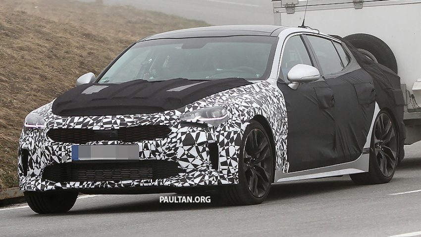 SPYSHOTS: Kia GT reveals some more of its curves Image #508785