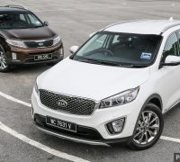Kia Sorento new vs old 1