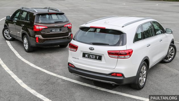 Kia Sorento new vs old 2