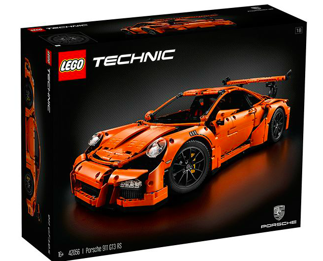 2016 Lego Technic Porsche 911 Gt3 Rs Kit Instant Hit Worldwide 2 704 Pieces 600 Page Manual Paultan Org