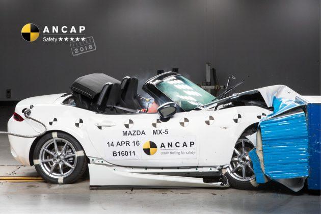 Mazda MX-5 ANCAP results 1