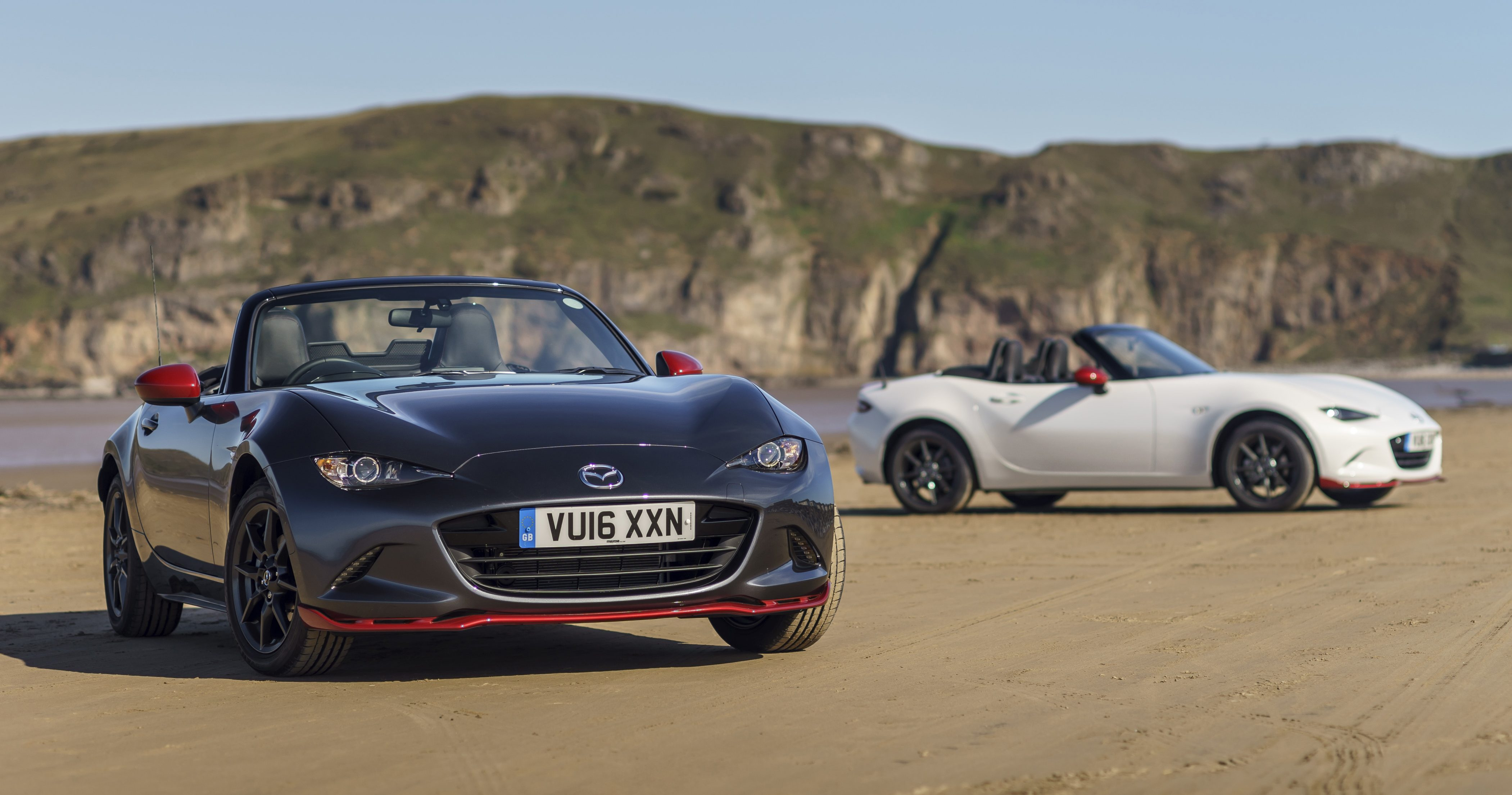 mazda mx 5 icon launched in the uk 600 units only. Black Bedroom Furniture Sets. Home Design Ideas