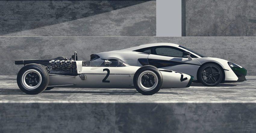 McLaren 570S M2B – edisi istimewa sempena 50 tahun pasukan McLaren dalam pentas kejohanan Formula 1 Image #503136