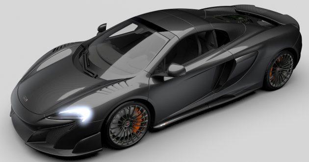 McLaren 675LT Spider MSO Carbon Series 1