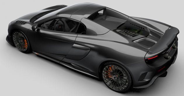 McLaren 675LT Spider MSO Carbon Series 2