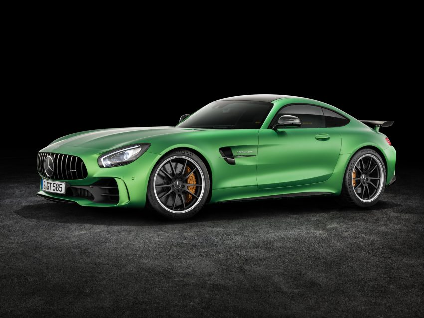 Mercedes-AMG GT R revealed – 577 hp and 699 Nm Image #512635