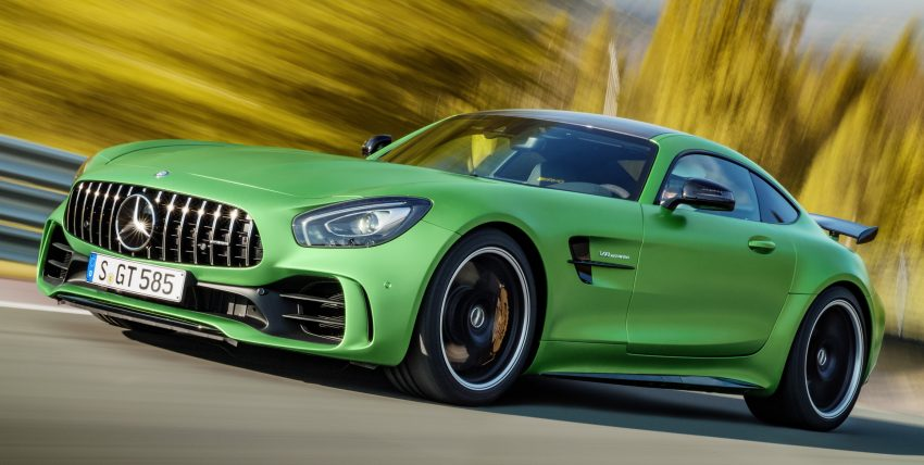 Mercedes-AMG GT R revealed – 577 hp and 699 Nm Image #512652