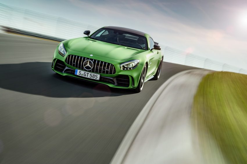 Mercedes-AMG GT R revealed – 577 hp and 699 Nm Image #512653