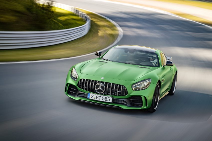 Mercedes-AMG GT R revealed – 577 hp and 699 Nm Image #512655