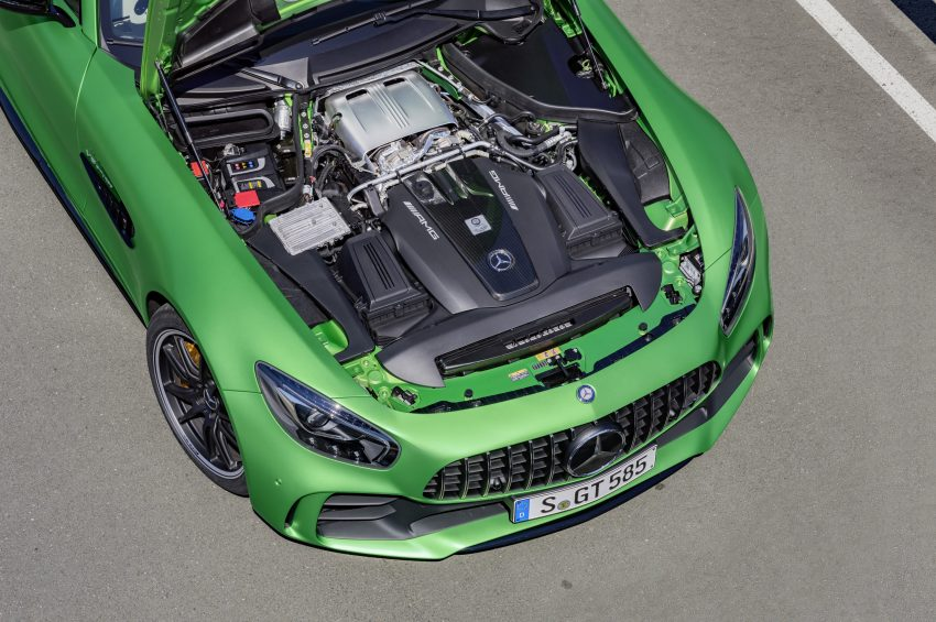 Mercedes-AMG GT R revealed – 577 hp and 699 Nm Image #512660