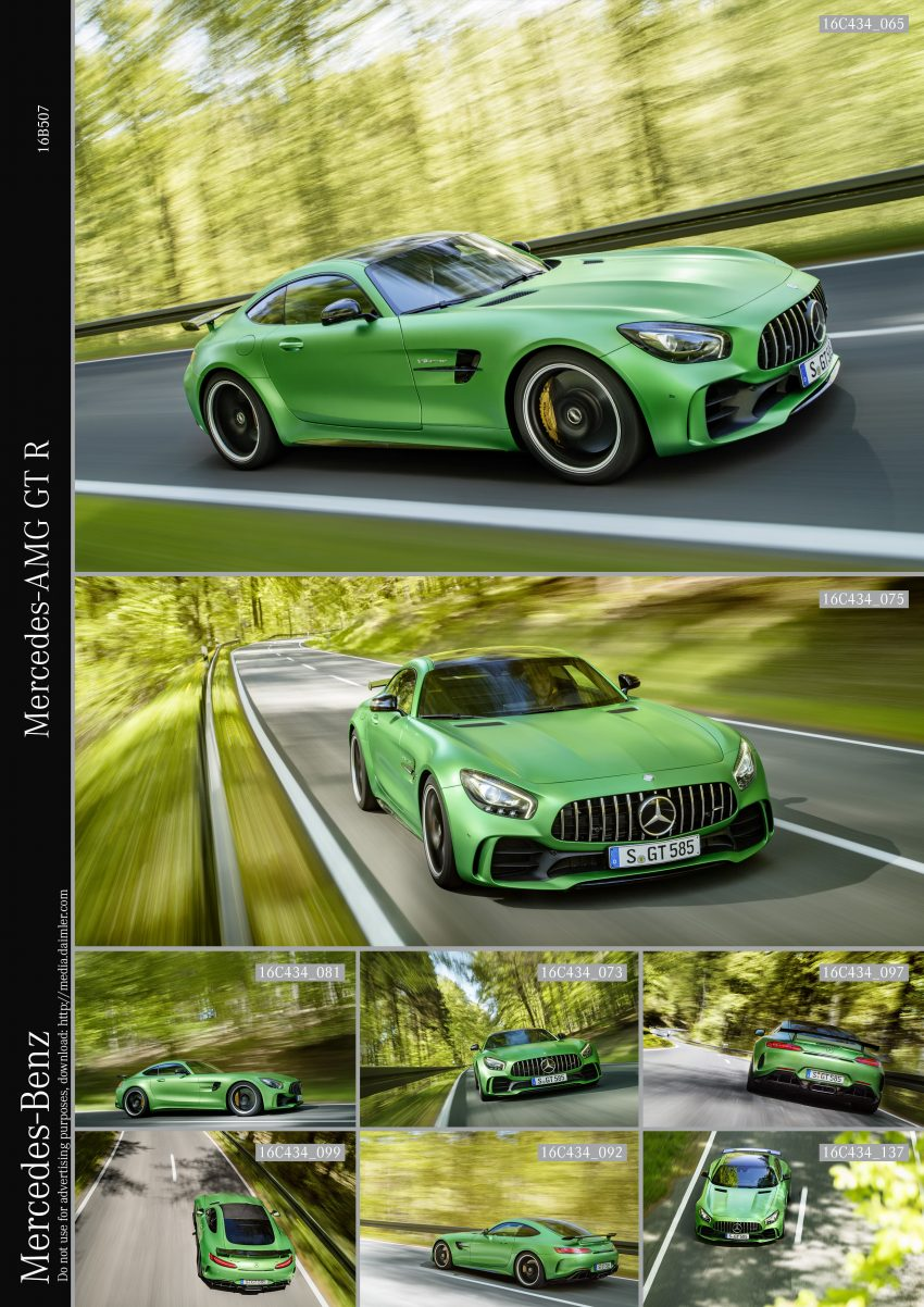 Mercedes-AMG GT R revealed – 577 hp and 699 Nm Image #512662