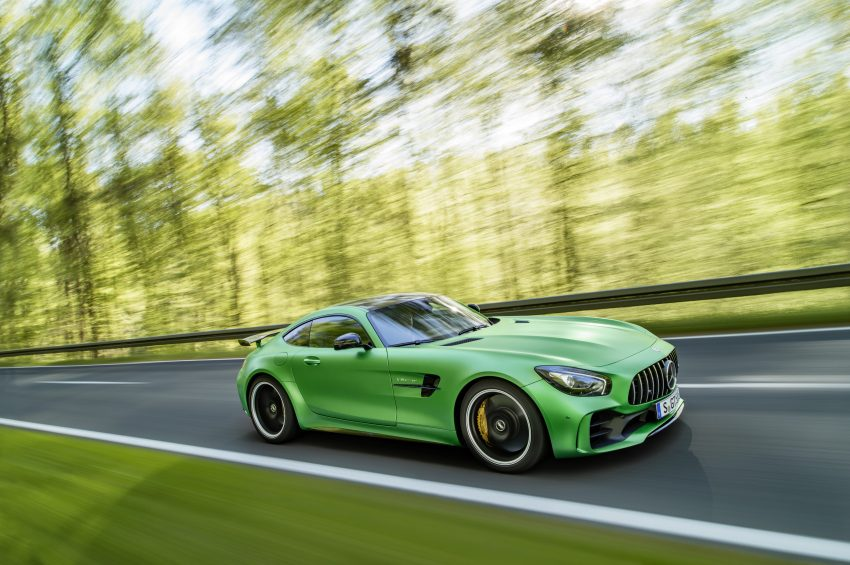 Mercedes-AMG GT R revealed – 577 hp and 699 Nm Image #512663