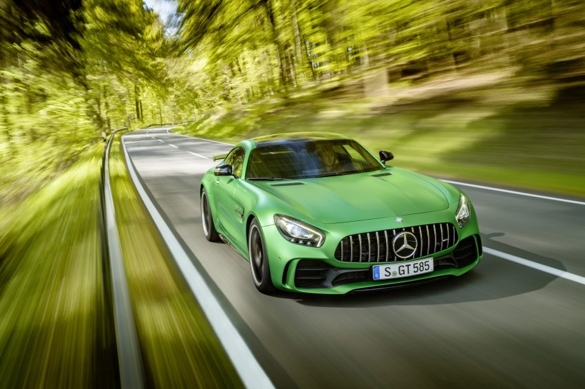 Mercedes-AMG GT R revealed – 577 hp and 699 Nm Image #512666