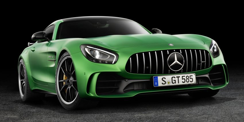 Mercedes-AMG GT R revealed – 577 hp and 699 Nm Image #512637
