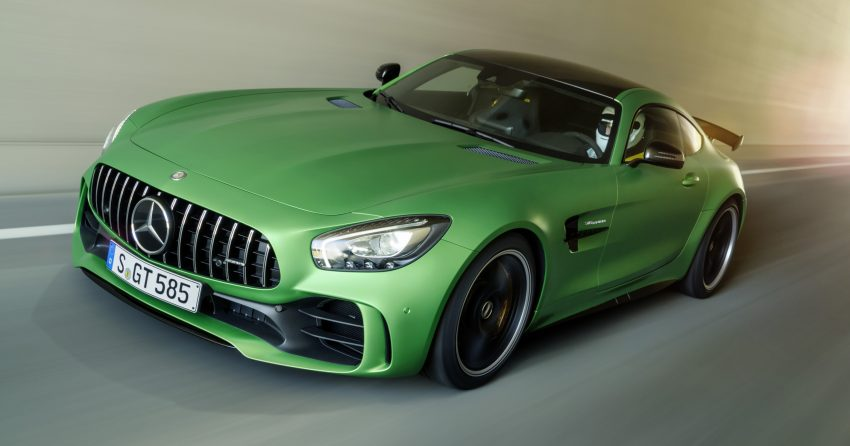Mercedes-AMG GT R revealed – 577 hp and 699 Nm Image #512675