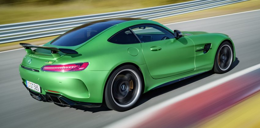 Mercedes-AMG GT R revealed – 577 hp and 699 Nm Image #512677