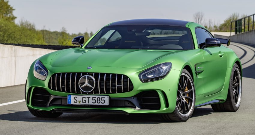 Mercedes-AMG GT R revealed – 577 hp and 699 Nm Image #512684