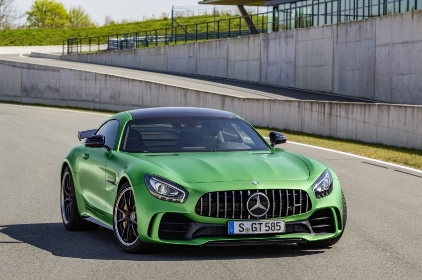 Mercedes-AMG GT R revealed – 577 hp and 699 Nm Image #512687