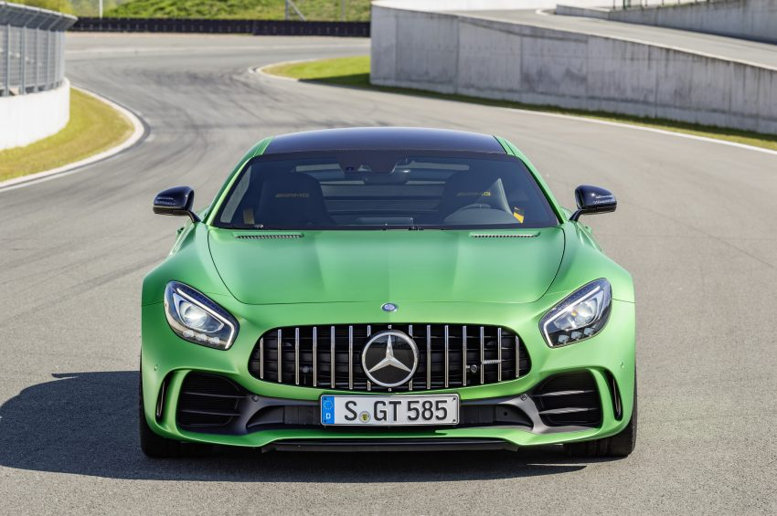 Mercedes-AMG GT R revealed – 577 hp and 699 Nm Image #512689