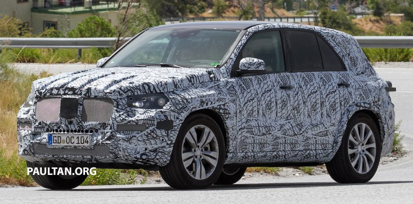 SPIED: W167 Mercedes-Benz GLE seen for first time Image #535470
