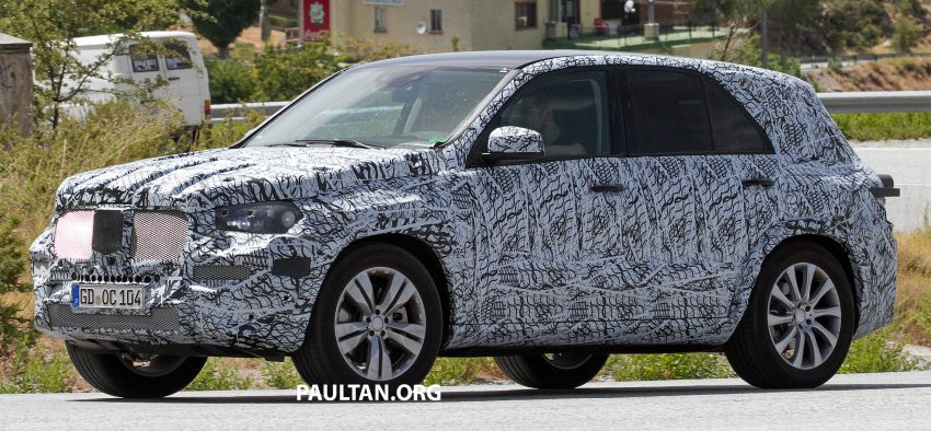 SPIED: W167 Mercedes-Benz GLE seen for first time Image #535471