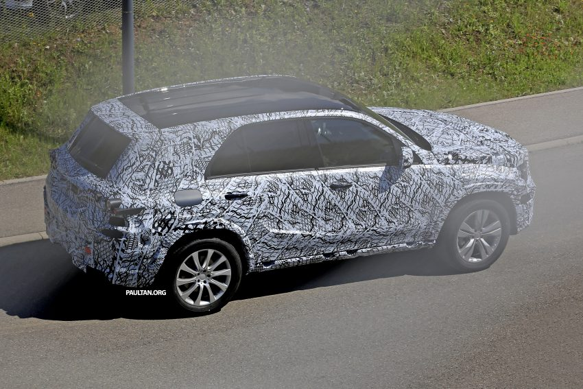 SPIED: W167 Mercedes-Benz GLE seen for first time Image #505189
