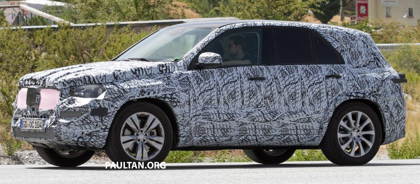 SPIED: W167 Mercedes-Benz GLE seen for first time Image #535472