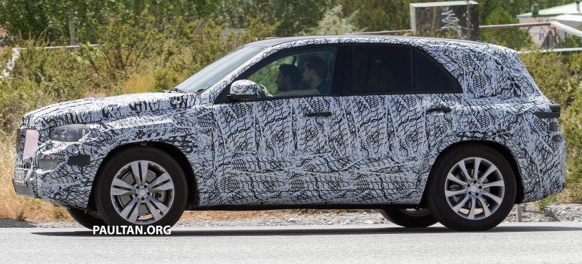 SPIED: W167 Mercedes-Benz GLE seen for first time Image #535474