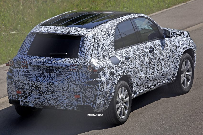 SPIED: W167 Mercedes-Benz GLE seen for first time Image #505191