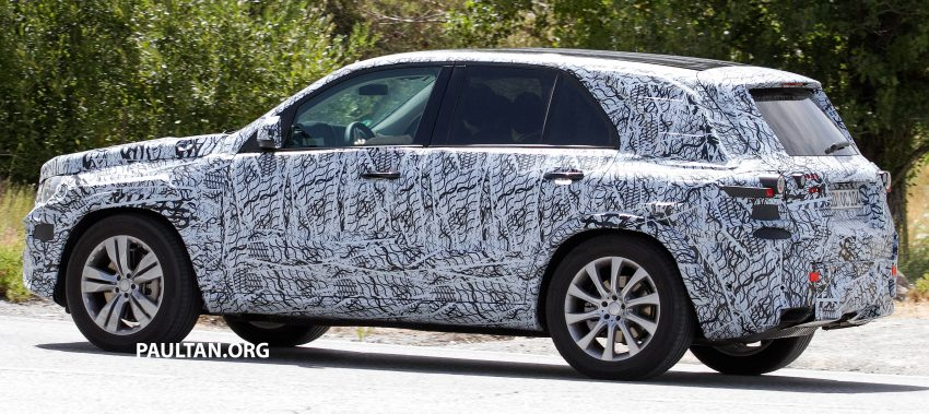 SPIED: W167 Mercedes-Benz GLE seen for first time Image #535475