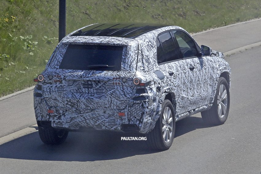SPIED: W167 Mercedes-Benz GLE seen for first time Image #505192