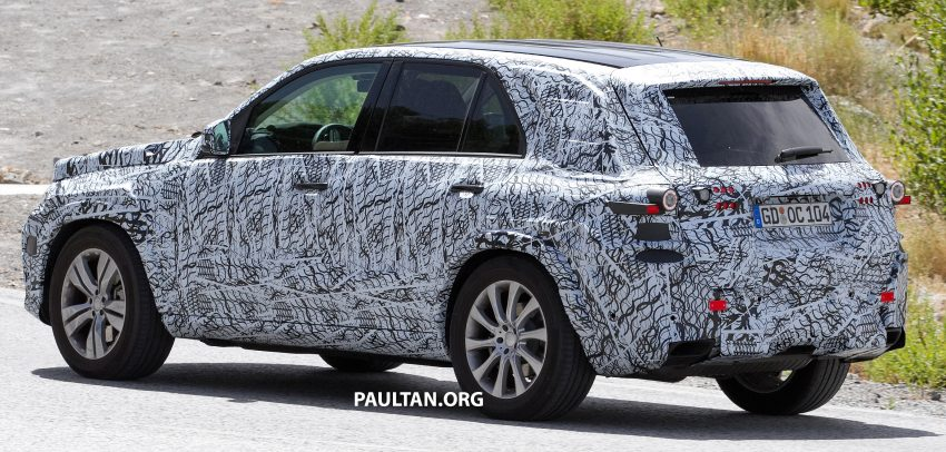 SPIED: W167 Mercedes-Benz GLE seen for first time Image #535477